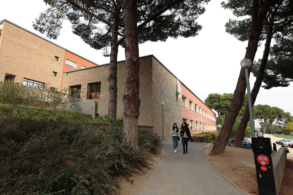 Vista del Campus Mundet