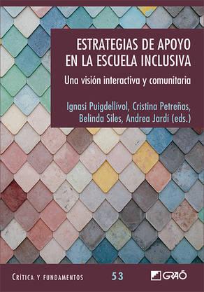 Portada del llibre: Estrategias de apoyo en la Escuale Inclusiva