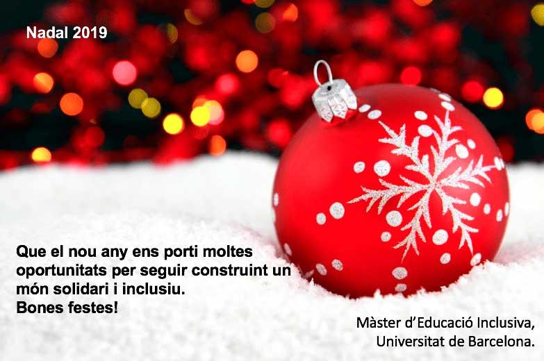 Bon Nadal 2019